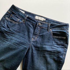 Torrid Curvy Skinny Jeans Dark Wash Size 14R